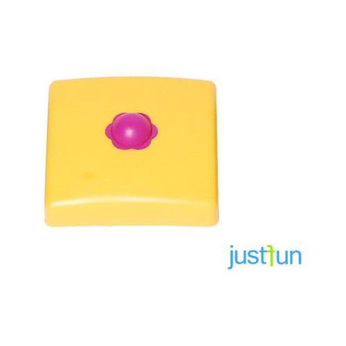 Just fun Plastikowa nakładka na belkę kwadratową 100x100 mm - żółty