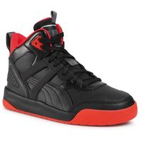 Sneakersy PUMA - Backcourt Mid Jr 374411 03 Blac/Black/Red/Shadow/Silver