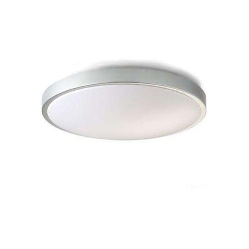 Plafon lampa sufitowa casino r10247  okrągła oprawa srebrnoszara marki Redlux