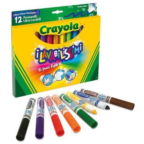 Flamastry Super Spieralne 12 kolorów CRAYOLA, 5_516170