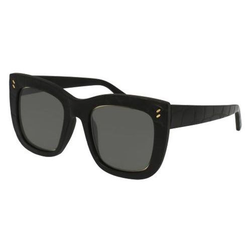 Okulary Słoneczne Stella McCartney SC0067SA Asian Fit 001, kolor żółty