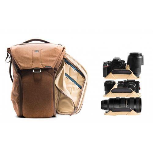 everyday backpack 20l brązowy marki Peak design