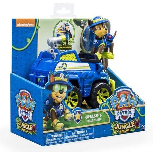 PSI PATROL Pojazd specjalny z figurką Jungle, Chase - DARMOWA DOSTAWA OD 199 ZŁ!!! (5902002057684)