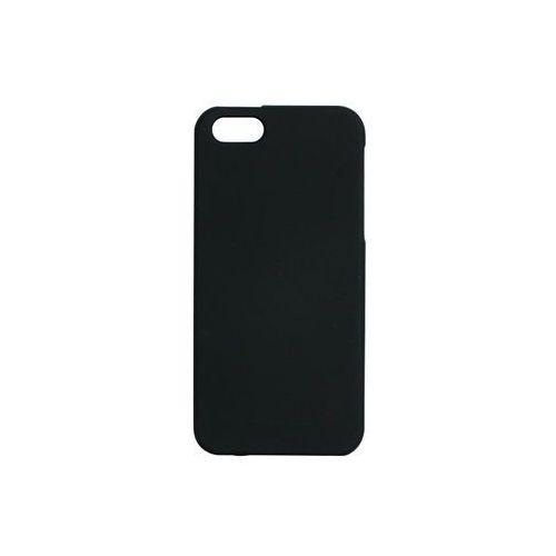 Apple iphone 5 / 5s - etui na telefon soft feeling - czarny marki Mercury goospery