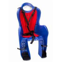 Romet Fotelik dla dziecka elibas na bagażnik niebieski, ciemno szary, beżowy
