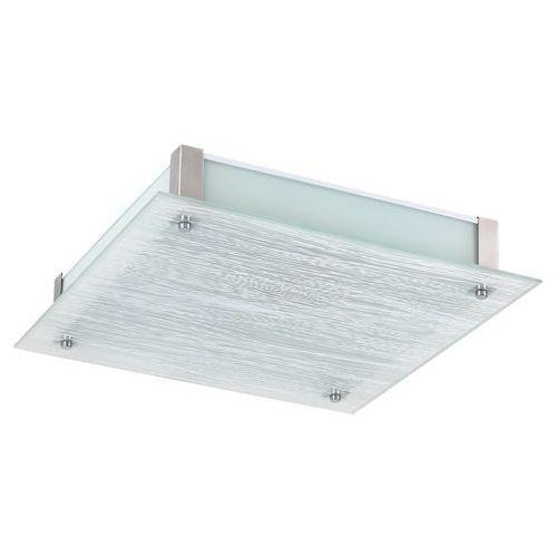 Rabalux Plafon dustin 3036 lampa sufitowa 1x24w led biały / chrom