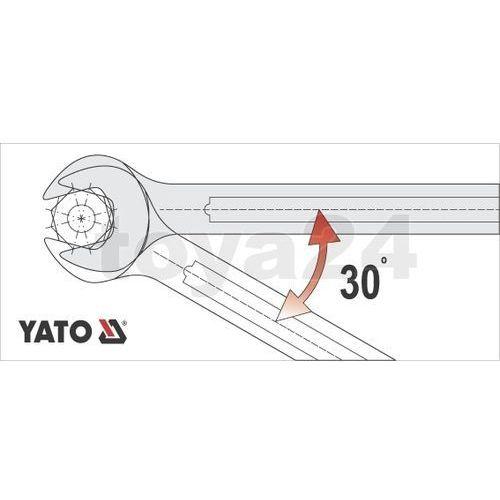 Klucz płasko-oczkowy z polerowaną główką 18 mm Yato YT-0347 - ZYSKAJ RABAT 30 ZŁ, YT-0347