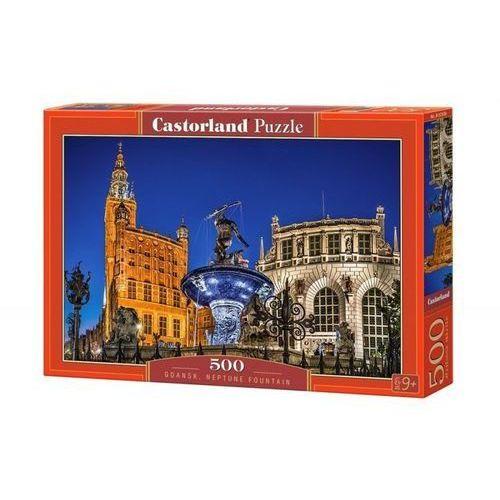 Puzzle 500 Gdańsk Neptune Fountain - Castor OD 24,99zł DARMOWA DOSTAWA KIOSK RUCHU, 5_620417