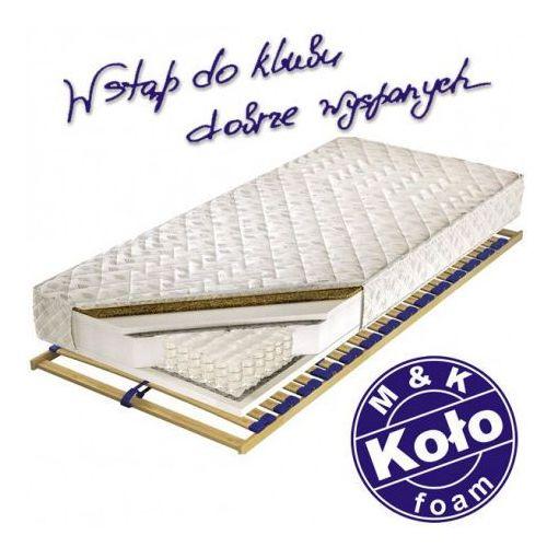 M&k foam koło Materac palmea - m&k koło, rozmiar - 90x200 cm, pokrowiec - soya - negocjuj ceny