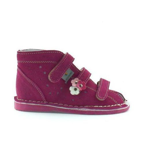 Dziecięce buty profilaktyczne t125/135 fuksja marki Danielki