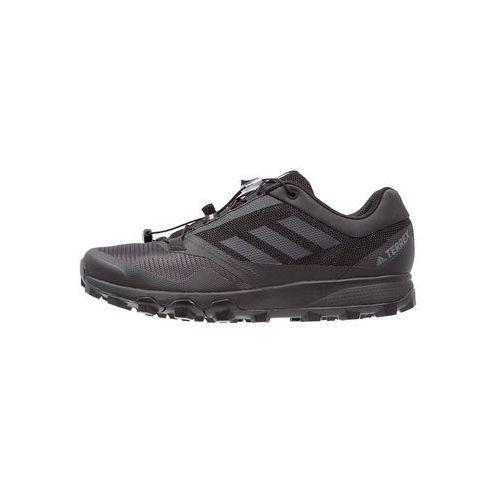 Adidas performance terrex obuwie do biegania szlak core black/vista grey/utility black marki Adidas terrex