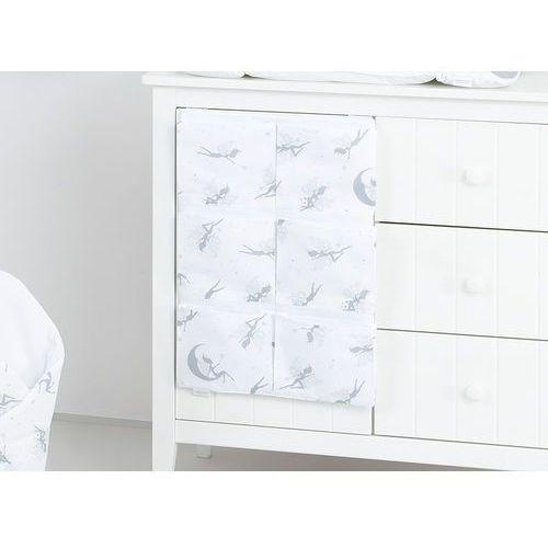 Mamo-tato przybornik organizer na łóżeczko wróżki szare