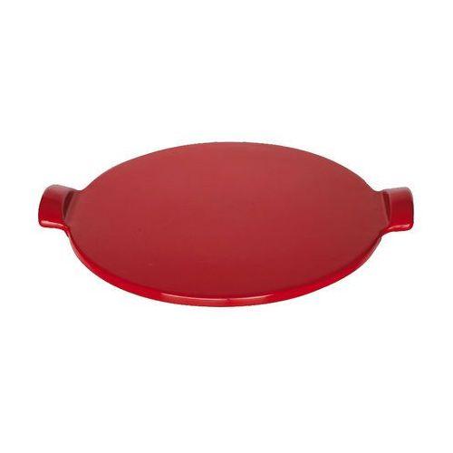 Kamień do pieczenia pizzy średni - Emile Henry (Kolor:: Czerwony)