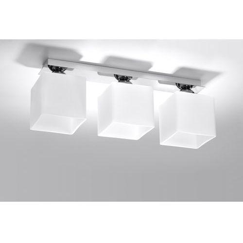 Lampa sufitowa PIAZZA 3 chrom SL.0227 - Sollux - Rabat w koszyku (5902622427263)
