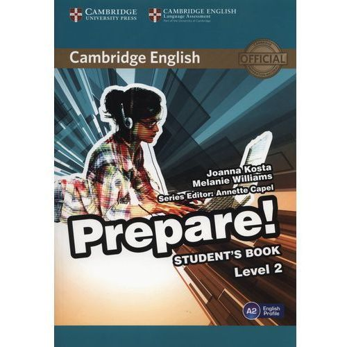 Cambridge English Prepare! 2 Student's Book - Wysyłka od 4,99 - porównuj ceny z wysyłką, oprawa kartonowa