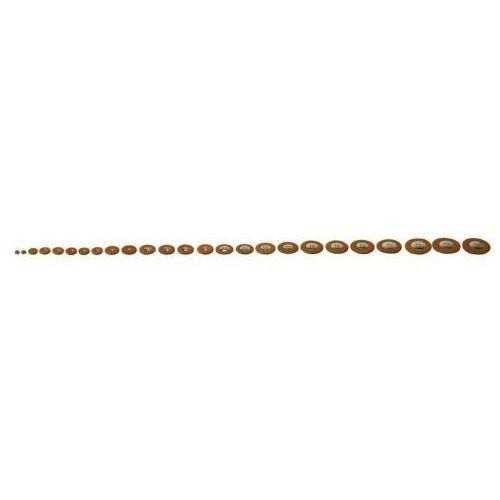 poduszki pełne zestawy kolor: brązowy saksofon sopranowy marki Pisoni