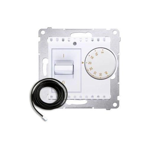 Regulator podtynkowy 54 drt10z.02/11 temperatury z czujnikiem zewnętrznym biały marki Kontakt-simon