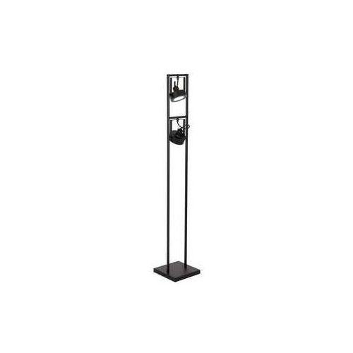 Luminex Viva 1227 lampa stojąca podłogowa 2xAR11115W GU10 czarny (5907565912272)