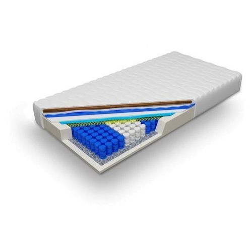 Materac kieszeniowy pocket z memory miękki H1 (17 cm) - Apollo 90 x 200 Cashmere