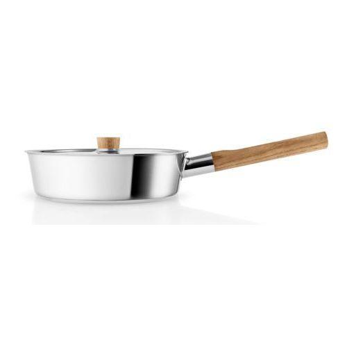 Patelnia z pokrywką Eva Solo Nordic Kitchen 24 cm stal