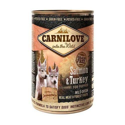 Brit  carnilove salmon & turkey pupies 400g puszka