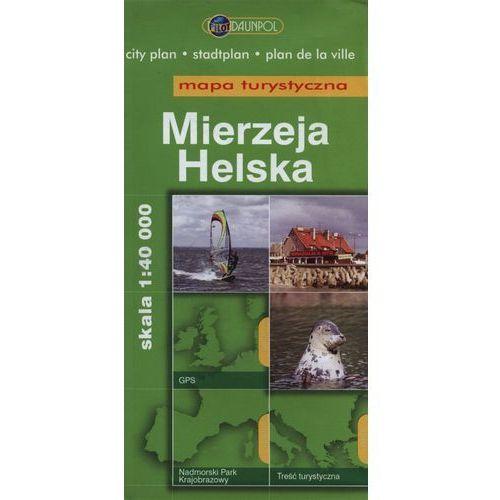 Mierzeja Helska Mapa turystyczna 1:40 000 (opr. broszurowa)