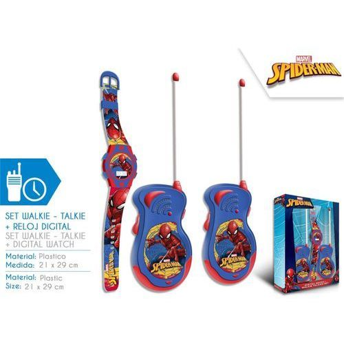 Walkie - talkie + zegarek na rękę Spiderman