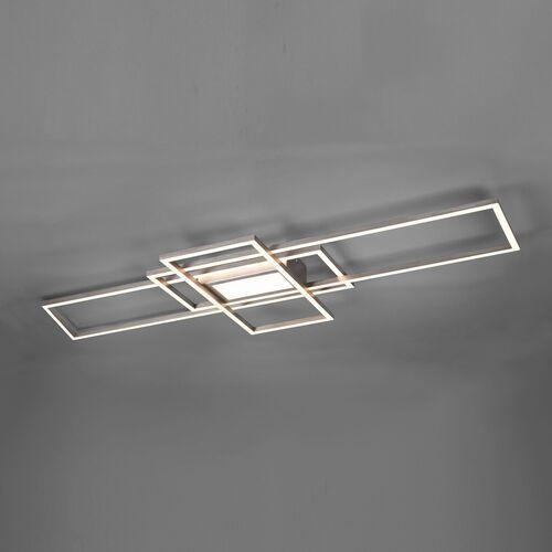irvine 620010407 plafon lampa sufitowa 1x60w led 3000-6500k nikiel mat marki Trio