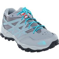 The north face buty trekkingowe dziecięce jr hedgehog hiker wp, griffin grey/blue curacao 32