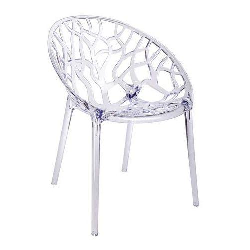 King home Krzesło koral - poliwęglan - transparentne