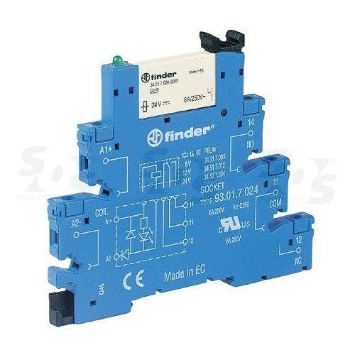 Przekaźnikowy moduł sprzęgający Finder 38.51.7.048.4050, 38.51.7.048.4050