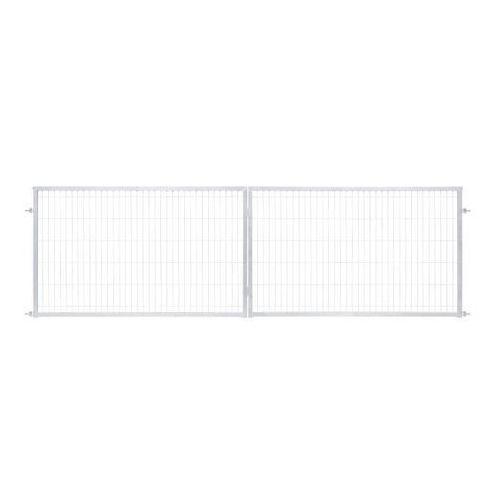Brama panelowa 2d 400 x 120 cm oczko 5 x 20 cm ocynk marki Polbram steel group
