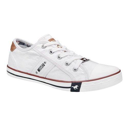 Trampki MUSTANG 36C0024 Białe 1099-302-1 Weiss - Biały, kolor biały