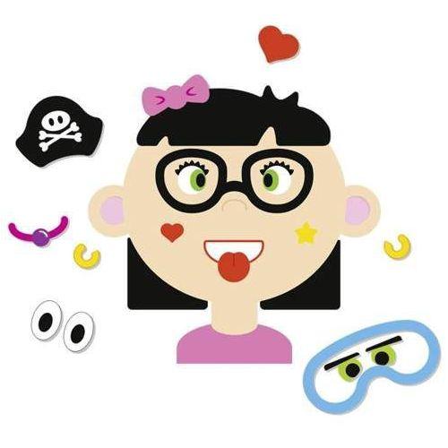 Układanka magnetyczna dla dzieci - Śmieszne twarze