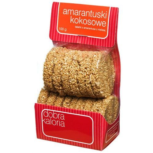 Amarantuski kokosowe 100g - , marki Dobra kaloria