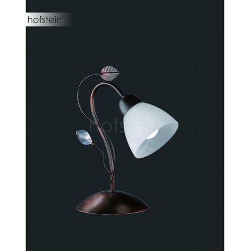 Trio-Leuchten Traditio Lampa stołowa Ciemnobrązowy, Rudy, 1-punktowy - Dworek - Obszar wewnętrzny - TRADITIO - Czas dostawy: od 3-6 dni roboczych