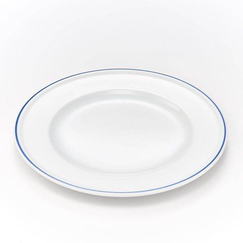 Talerz płytki porcelanowy koneser - śr. 27 cm marki Karolina