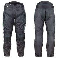 Spodnie motocyklowe wodoodporne W-TEC Anubis NEW, Czarny, XL, 1 rozmiar