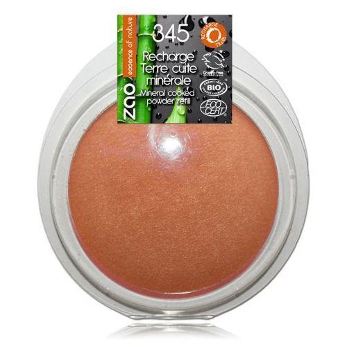 Zao - make up organic Puder brązujący zao - wkład - 345 - miedziany