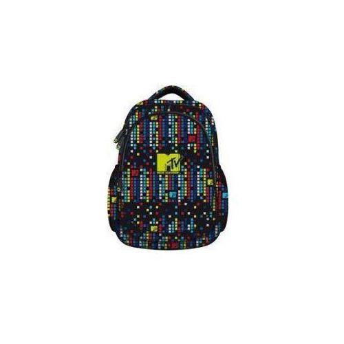 Plecak młodzieżowy mtv kolorowy marki St. majewski