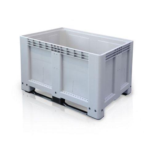 Skrzyniopaleta - big box - 1200x800x800 mm, 2 płozy marki B2b partner