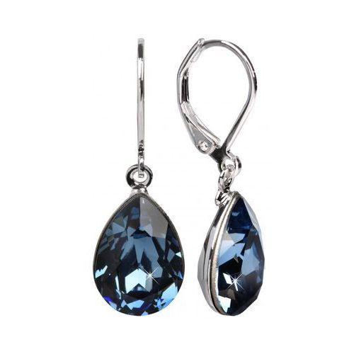 Troli Kolczyki Pear 14 mm Denim Blue (2376871631970)