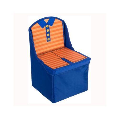 Bieco  składane krzesło dziecięce kolor niebieski (4005544004749)
