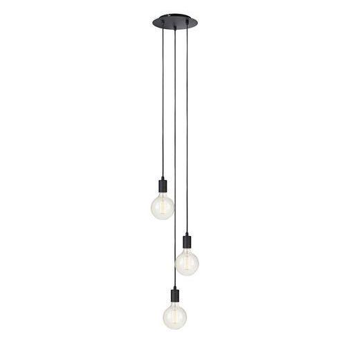 Minimalistyczna lampa wisząca sky 106334 metalowa oprawa zwis kaskada przewody kable czarne marki Markslojd