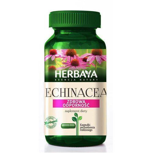 HERBAYA Echinacea prawidłowa odporność 60 kapsułek - Długi termin ważności! DARMOWA DOSTAWA OD 180 ZŁ! SZYBKA REALIZACJA ZAMÓWIENIA! (5900956801001)