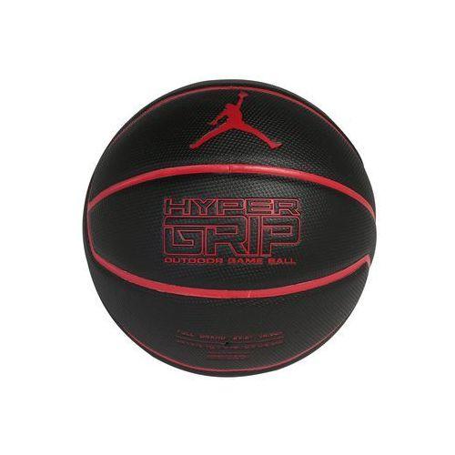 Jordan JORDAN HYPER GRIP Piłka do koszykówki black/gym red, 9018/1