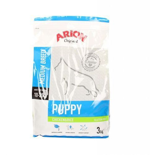 Arion Original Puppy Medium Chicken & Rice 3 kg (5414970055055)