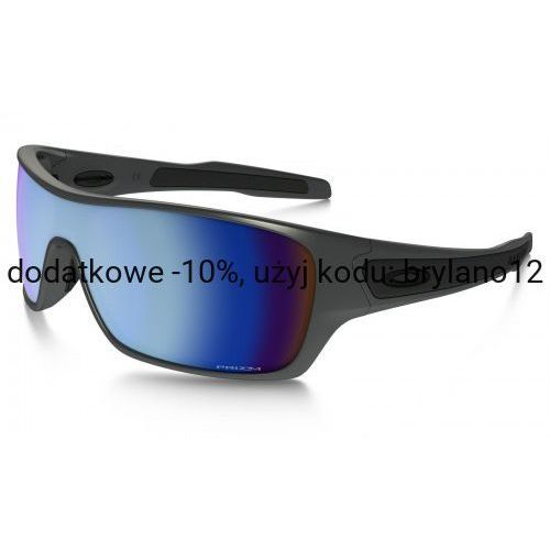 Okulary Oakley TURBINE ROTOR Steel Prizm Deep H2O Polarized OO9307-09