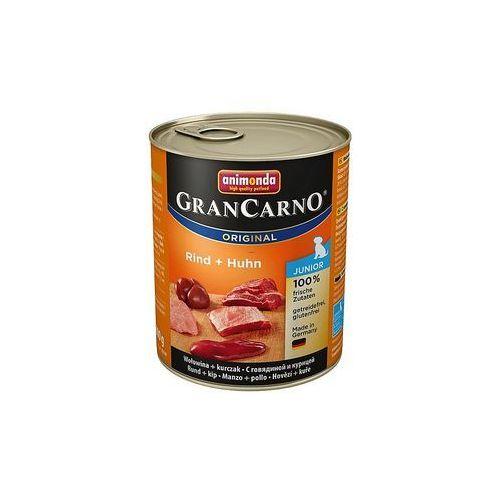 grancarno junior smak: wołowina i kurczak 800g marki Animonda