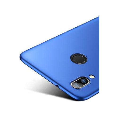Etui thin case do huawei p20 lite niebieskie + szkło 9h - niebieski marki Msvii